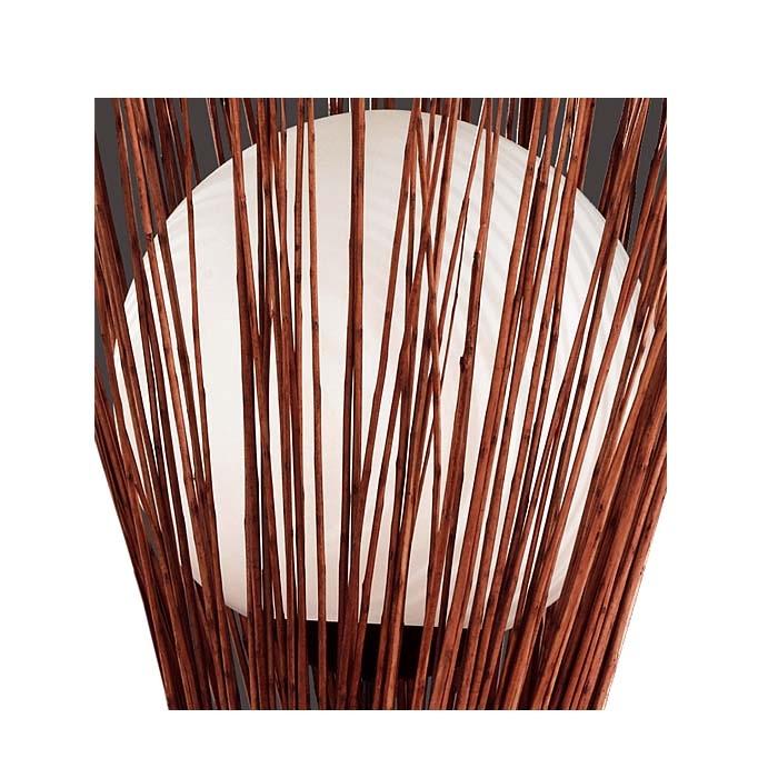 Ersatzglas 92402 Lampenglas für Trio Weidengeflecht-Stehleuchte 407000132, 407000140, 4017807207828, 4017807207811
