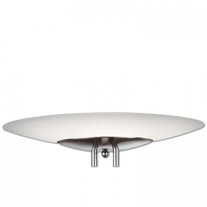 Ersatzglas 92574 Fluterglas Schale für Trio Lifestyle Deckenfluter u. Pendelleuchte Dakar 32411x 42411x