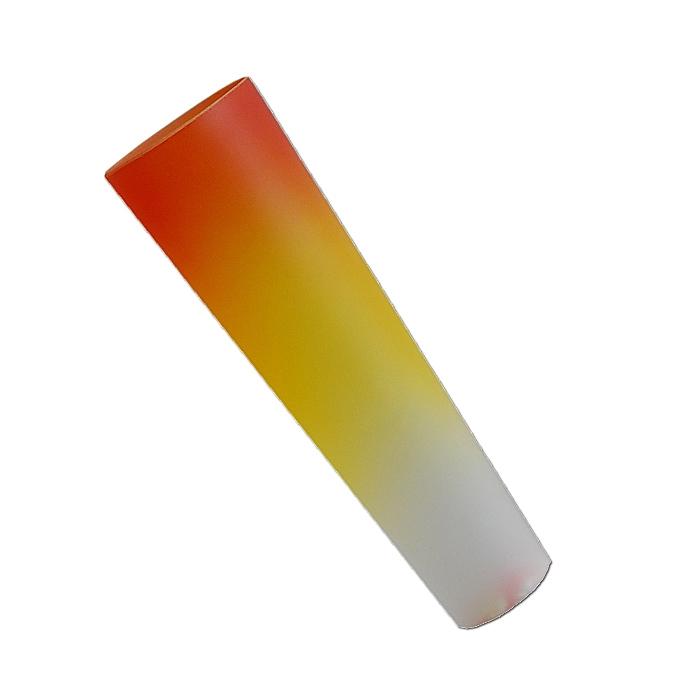 Ersatzglas 92114-17 Lampenglas orange/gelb/weiß für Trio Kronleuchter 1170051-17 TORNESH