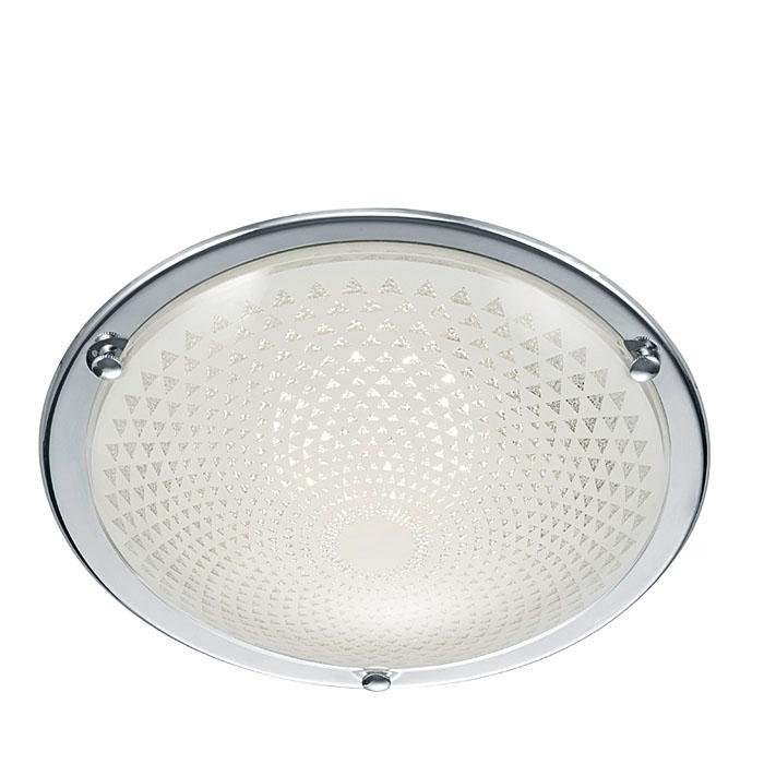 Ersatzglas 92783 Lampenglas Ø 30cm weiß für Trio LED Deckenleuchte FACETTE 629110106 4017807333107