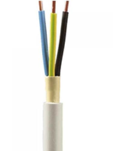 6,0m NYM-J 3x1,5 mm² Kabel Installationsleitung - Kabelrest zum Sonderpreis
