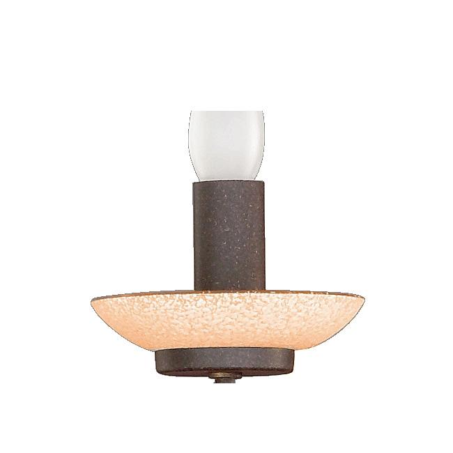 Ersatzglas 9373-24 Lampenglas Trio für Kronleuchter Scarvo-Glas amber 1199051-24