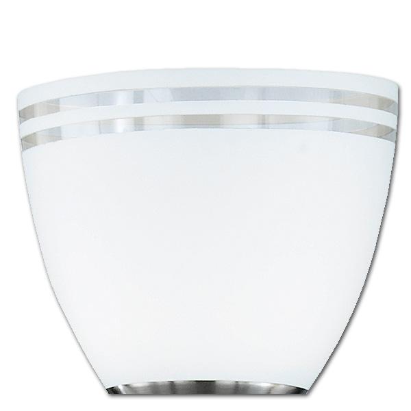 Trio Ersatzglas 92544-01 Fluterglas Schale für Deckenfluter 422410207