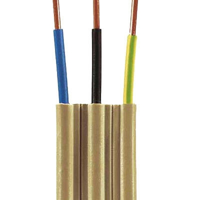 50m Ring NYIF-J 3x2,5 mm² Stegleitung Flachkabel 4020704200137