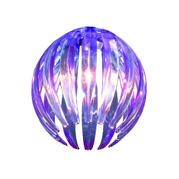 Trio Ersatzglas 92390-92 Acrylstäbe purple lila für Serien 8140xx 414010392 594010192