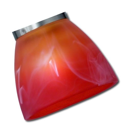 Trio Ersatzglas 9325-18 Lampenglas zu Serie 8161xx 6361xx orange