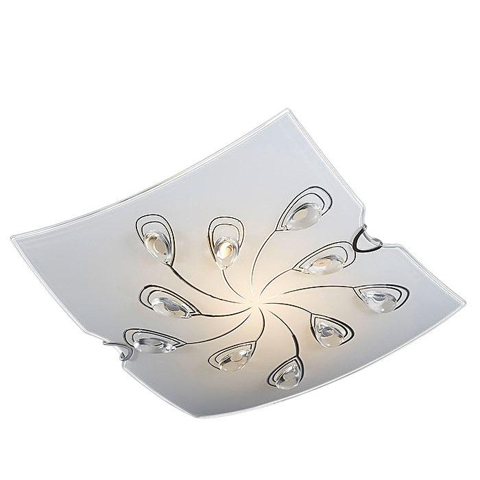 Ersatzglas 92776 Lampenglas 28,5 x 28,5cm für Deckenleuchte Trio Floris 604200106 4017807300840