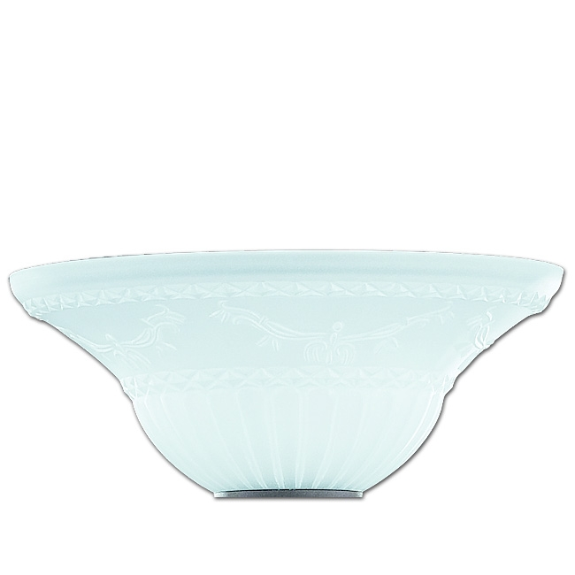 Trio Ersatzglas 92274 Lampenglas für Deckenfluter RUSTICA 4602021-24 Fluterglas
