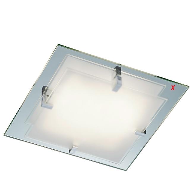 Trio Ersatzscheibe 92415-01 Spiegelglas für Deckenlampe ESPEJO 601100200