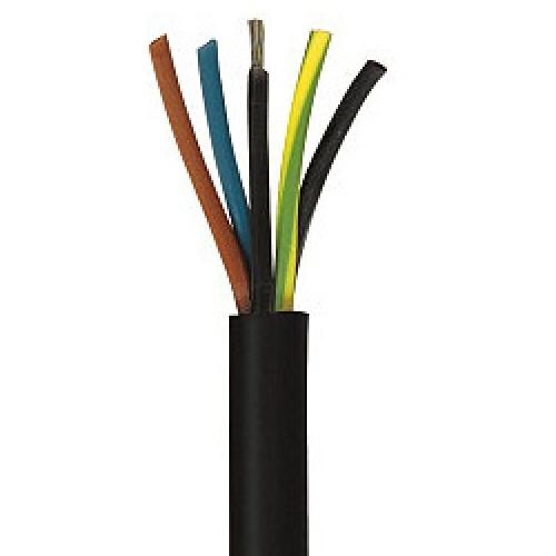 5,1m H07RN-F 5G1,5 5x1,5mm² Gummischlauchleitung - Kabelrest zum Sonderpreis