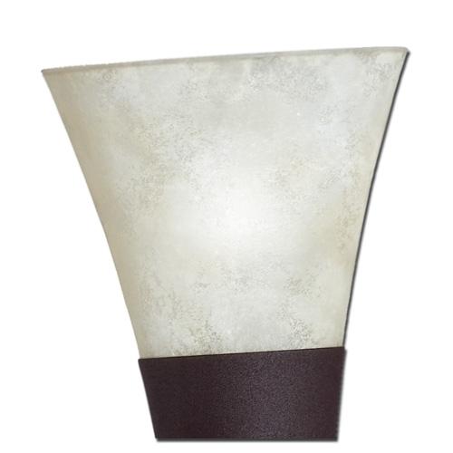 Ersatzglas 9573-24 Trio Scarvo Lampenglas für Wandfackel 2529211-24