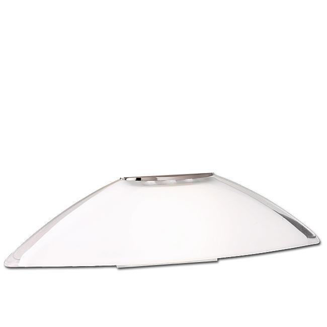 Trio Lampenglas 92549-01 Ersatzglas weiss glänzend für LED Tischleuchte 524310120 4017807240528