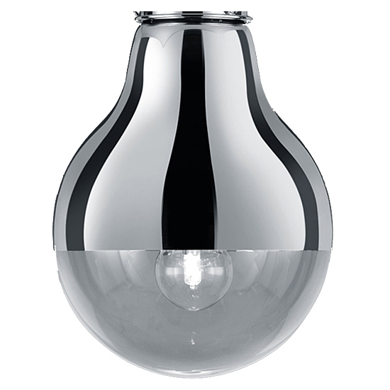 Trio Ersatzglas 92591-28 Lampenglas für EDISON II Pendelleuchte 340190106
