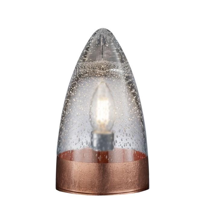 Ersatzglas Trio 92730-62 Lampenglas klar/kupferfarbig für Tischleuchte MILTON 515500162