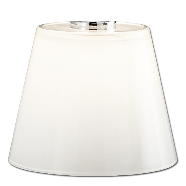 Trio Lampenglas 92672 weiß glänzend Ersatzglas für LED Tischleuchte MONTI 529310103 529310106 4017807262001