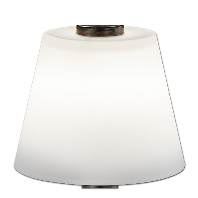 Trio Lampenglas 92672-28 weiß glänzend Ersatzglas für LED Tischleuchte MONTI 529310128
