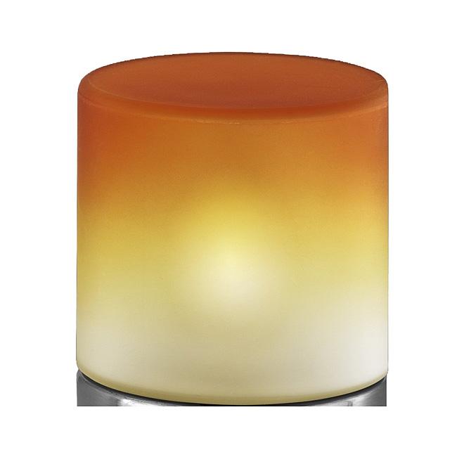 Ersatzglas Trio 9262-17 Lampenglas orange für Tischleuchte 5908011-17