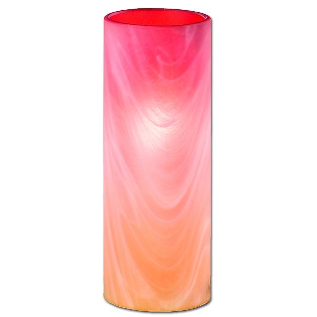 Ersatzglas 9316-18 Lampenglas orange/weiss für Trio Tischleuchte 5000011-18