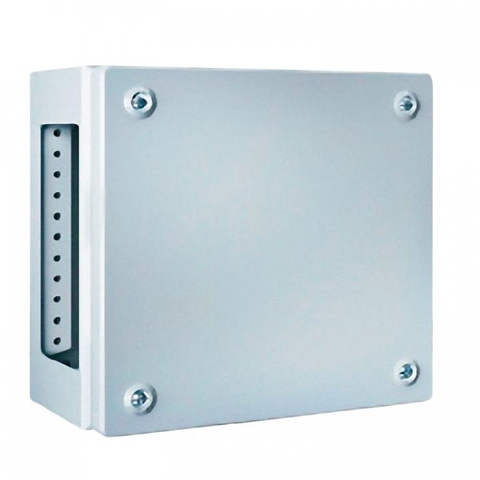 Rittal Klemmenkasten KL1531510 lackiert mit Flanschplatte RAL7035 300x200x120mm 4028177251373