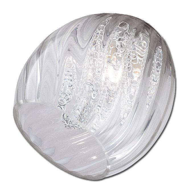 Trio Ersatzglas 92467 Glas für Serien 5935 6135 8135 4135 Lampenglas klar