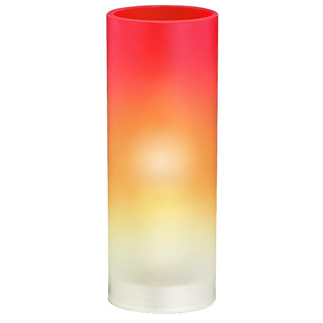Ersatzglas 9316-17 Lampenglas orange/weiss für Trio Tischleuchte 5000011-17