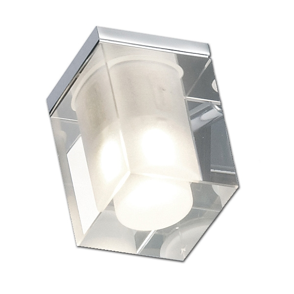 Ersatzglas 92651 Lampenglas für Trio CUBO Bad Spiegel- u. Wandleuchte 281910106, 281980106, 281980206, 681910406,