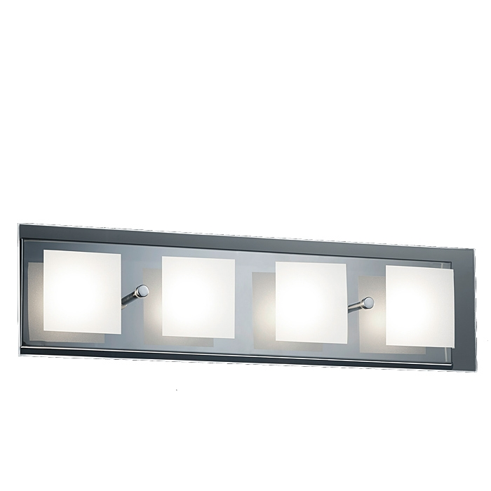 Trio Lampenglas Ersatzglas 92676-45 Glasscheibe für LED Wandleuchte 227970406
