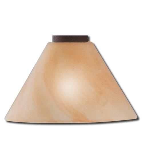 Ersatzglas 9350-24 Trio Lampenglas amber für 3751031-24 3751041-24 3751051-24