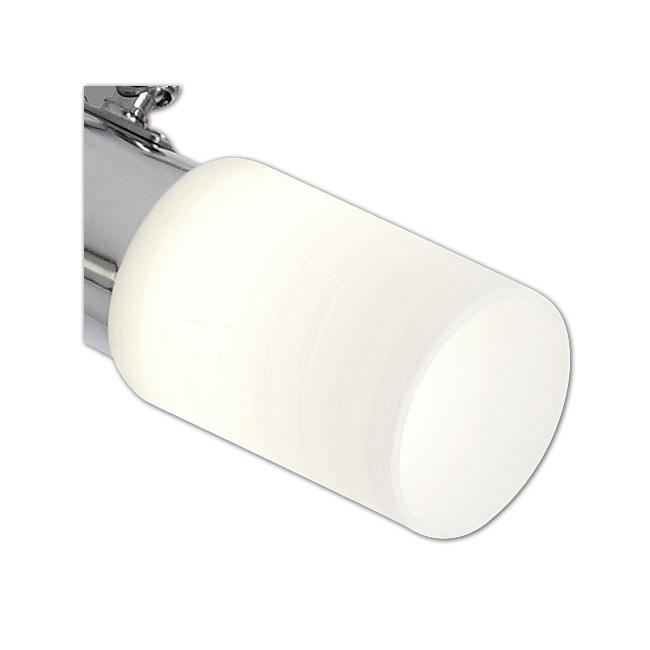 Ersatzglas 92426 Lampenglas weiß gewischt für Trio LED Serie 8214 2214 4214 5214 6214