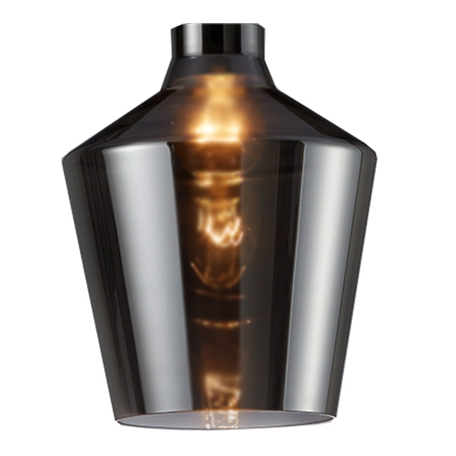 Trio Ersatzglas 92720-42 Lampenglas smoke für Pendelleuchte Calais 304800142