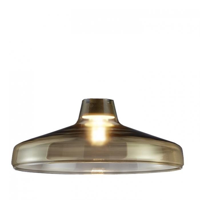 Trio Ersatzglas 92721-00 Lampenglas champagnerfarbig für Pendelleuchte DOVER 304900100, 4017807277951