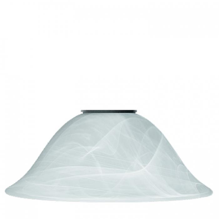 Reality Ersatzglas alabasterfarbig zu Pendelleuchte Country R30871024 Glasschirm Ø 33,5cm Lampenschirm mit E27 Fassung Glaskuppel  4017807206869 4017807199635 Glasglocke