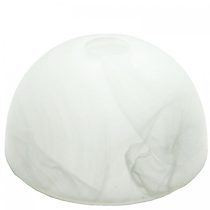 Trio Ersatzglas 9462 alabaster weiß Glasschirm für Kronleuchter 1120051-07 Pendelleuchte 1120051-08 Deckenleuchte 6120051-07 Glasschale Deckenlampe 6120051-08 Glasglocke 4017807118926  4017807119367 4017807118902