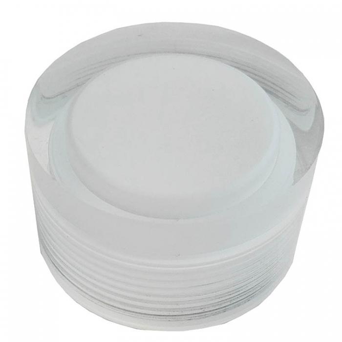 Sorpetaler Glashalterung und Diffusor für Melissa LED Serie 700351 700361 700250 700260 700150 700650 700660 Glashalte-Kappe Schraubkappe