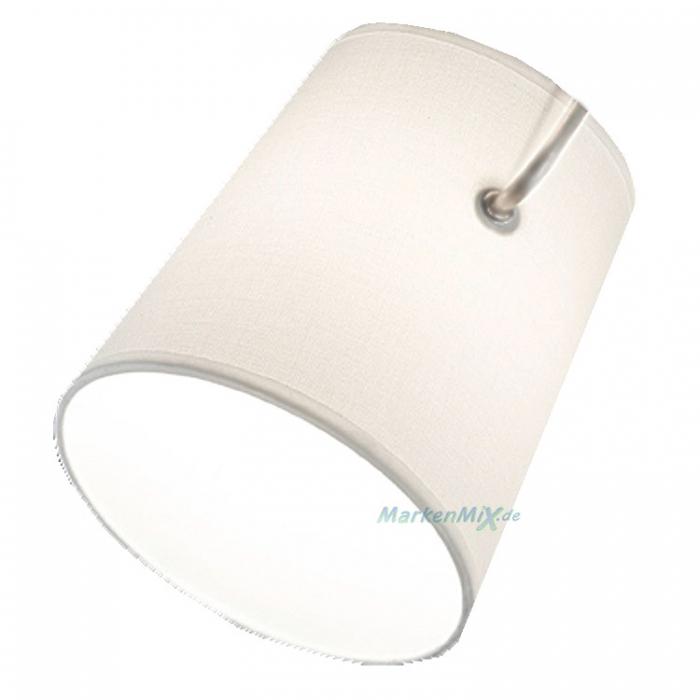 Ersatzschirm für Trio Serie Meran Stoffschirm weiß 206870107 306800307 606800307 Ersatzschirm 4017807387841 Lampenschirm aus Stoff 4017807387766 Ersatzlampenschirm 4017807387834