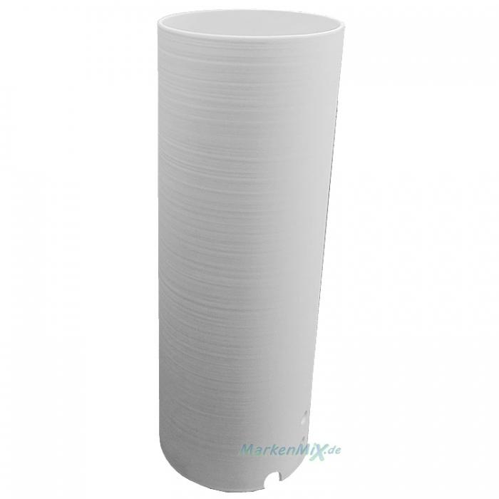 Reality Ersatzglas G52051011 für Tischleuchte R52051011 Glasschirm weiß gewischt Lampenglas 4017807221718 Ersatzschirm Lampenschirm Glashaube Abdeckglas