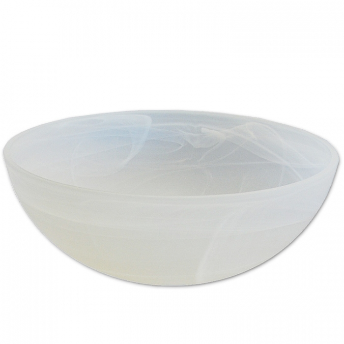 Ersatzglas alabaster für Trio Stehleuchte Deckenfluter Lampenglas Ø 36cm Fluterschale für Fassng E27, Lampenschirm passt auch auf Trio Fluter 4335021-07 430070187 430070102 430070107