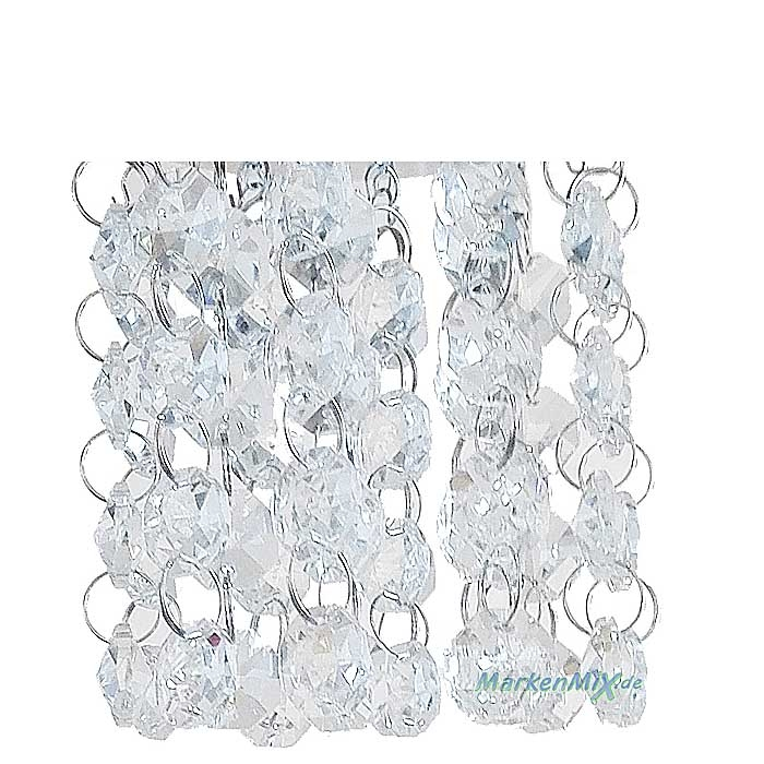 Ersatz Acryl-Behang für Reality Pendelleuchte POSH Posh  R30761006 R30763906 R30764006 Glaselemente Acryldekoration Glasbehang Glasketten