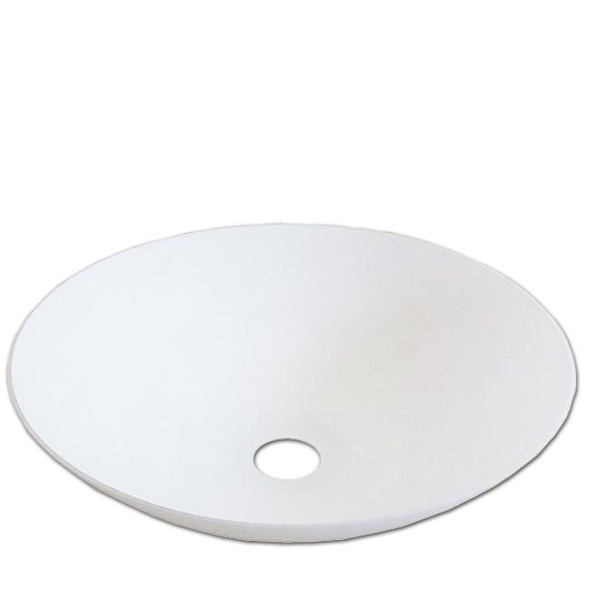 Fluterschirm Ersatzglas für Stehleuchte mit E27 Glasschirm opal matt großes Lampenglas Ø 40cm 424890228 424890207