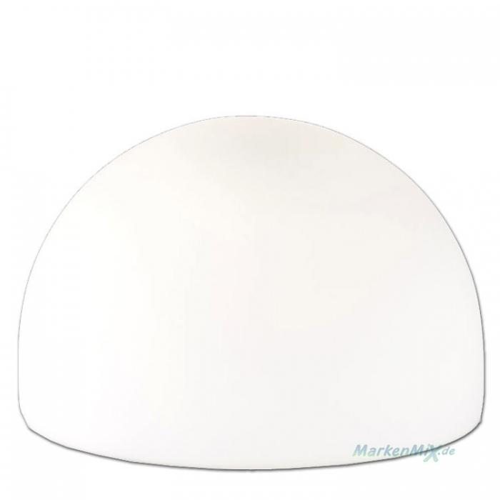 Ersatzglas Trio 9309 Lampenglas opal matt für Tischleuchte JOOST Glashalbkugel 5922011-07 Glasschirm für Aldi 5922-07 Glashaube 4017807086577 Lampenschirm 4017807081770