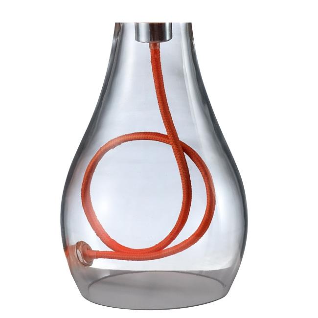 Trio Lampenfuß 92636 Glas-Fuß für Tischleuchte 508500101, 508500102, 508500142,