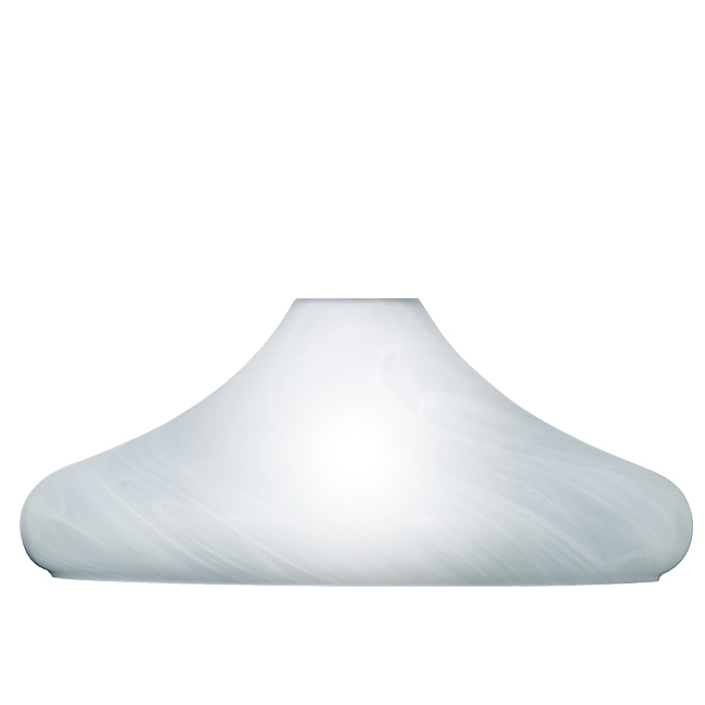 Trio Ersatzglas 92487-07 Lampenglas Ø 40cm für Pendellampe 300300107 Glasschirm 300300124 Trio-Lighting Arnsberg Lampenschirm