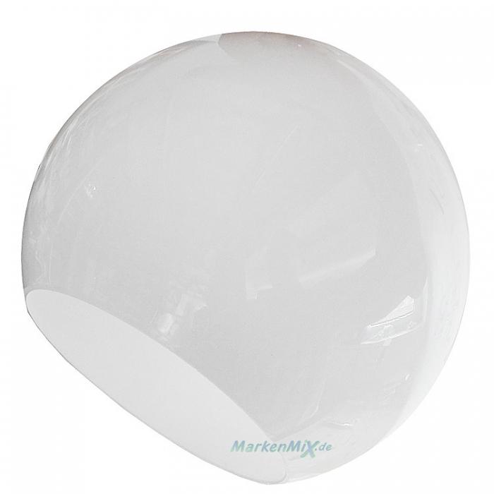 Reality Ersatzglas Kugelglas Ø 20cm weiß glänzend Glasschirm für Pendelleuchte Clooney R30071001 R30073001 4017807417579 Ersatzlampenglas Ersatzschirm Glas zu 4017807407617  4017807407655