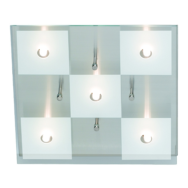 Trio Lampenglas Ersatzglas 9560 Glasscheibe für Halogen Deckenleuchte 6345051-07