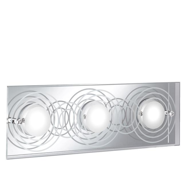 Trio Ersatzglas 92658-03 Glasscheibe 12 x 36 cm für LED Wandleuchte 224970306, 4017807247107