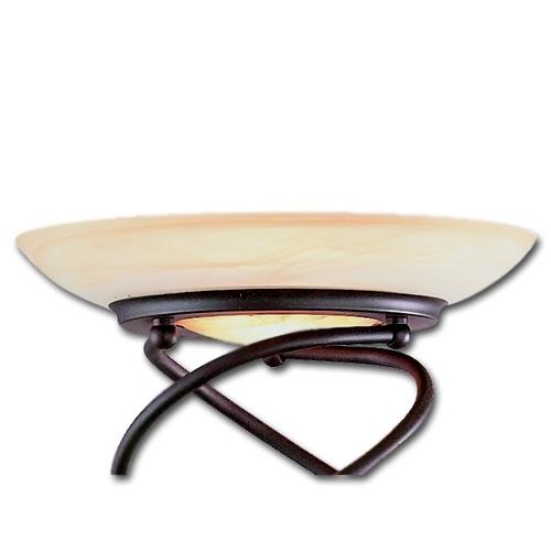 Ersatzglas 9443 Lampenglas für Trio Deckenfluter 4323011-24