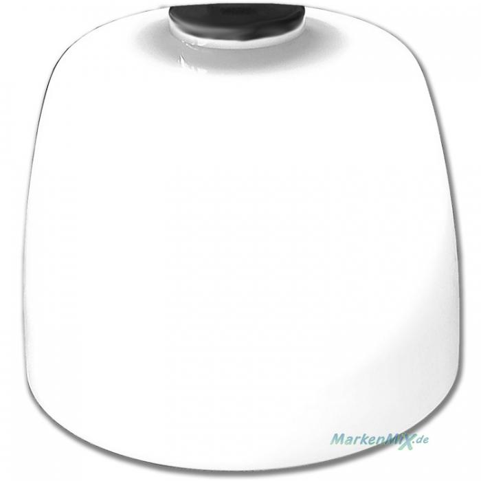 Sorpetaler Leuchten Ersatzglas Ø 20cm für Tischleuchte Casco 275690 Glasschirm weiß glänzend
