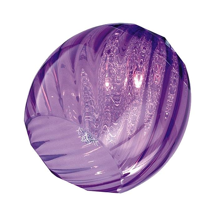 Trio Ersatzglas 92467-92 Glas für 593510192, 413510292, 313510492, 613510592, 813510192, 813510292, 813530392, 813510492, Lampenglas purple lila