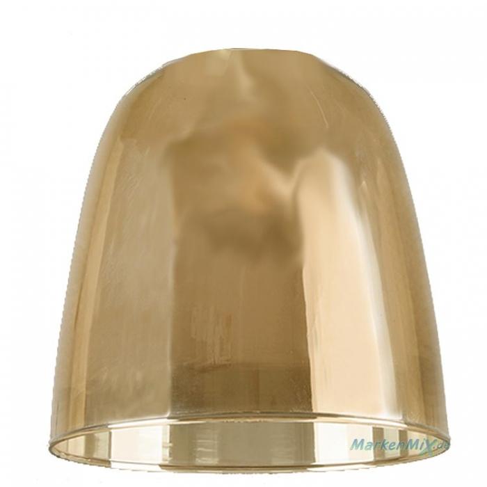 Reality Ersatzglas G3074-13 Glasschirm amberfarbig amber Ø 14cm für Pendelleuchte Vita R30741004  Ersatzlampenglas Ersatzschirm Glasglocke  zu 4017807465983 Trio-Lighting Arnsberg Reality Leuchten  4017807465952