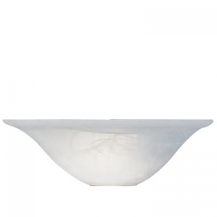 Sorpetaler Leuchten Ersatzglas Alabaster für Wandleuchte Alessia 125526 Ersatzlampenschirm Ersatzlampenglas
